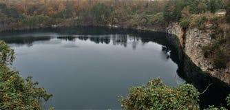 Steinbruch-Park von Winston-Salem Stockbild