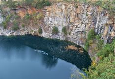 Steinbruch-Park von Winston-Salem Lizenzfreies Stockfoto