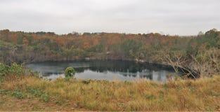 Steinbruch-Park von Winston-Salem Stockfoto