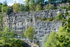 Steinbruch zwischen Darmsheim und Dagersheim in Sindelfingen Deutschland, Stockfoto