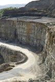 Steinbruchlandschaft Lizenzfreie Stockfotos