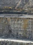 Steinbruchlandschaft Stockbilder