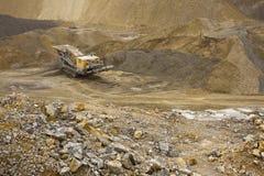 Steinbruchmaschinerie Lizenzfreies Stockfoto