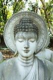 Steinbuddha-Statue Stockbilder