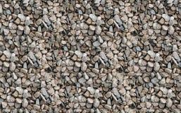 Steindünenhügel der industriellen Beschaffenheit des grauen beige Kieses lizenzfreies stockfoto