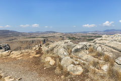 Steine auf Berg Arbel Stockfotos