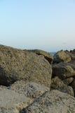 Steine auf der Küste Lizenzfreies Stockfoto