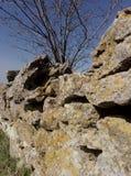 Steine auf landshaft Stockfotografie