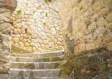Steine, das historische Gebäude nahe Matera in Italien UNESCO-Europäischer Kulturhauptstadt 2019 Stockbilder