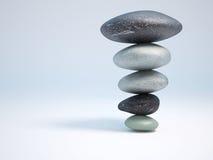 Steine in den balans Lizenzfreies Stockbild
