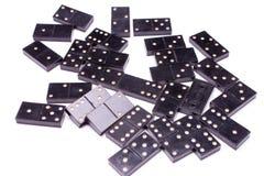 Steine des Dominos Stockfotos