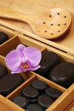 Steine für Massage Stockfotografie