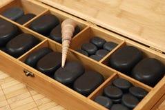 Steine für Massage Lizenzfreies Stockfoto