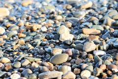 Steine, Felsen, Sand Lizenzfreie Stockfotos