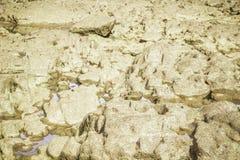 Steine im Fluss bei Suratthani Lizenzfreie Stockbilder