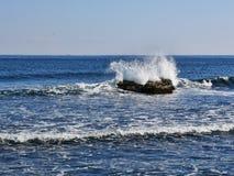 Steine im Meer Sokcho-Stadt Stockfotografie