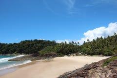 Steine im Ozeanwasser Stockfotografie