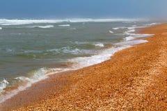 Steine im Ozeanwasser Stockbild