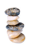 Steine im Schwerpunkt Stockfoto