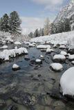 Steine im Wasser. lizenzfreie stockfotografie