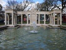 Steine ogródów fontanna Zdjęcie Stock