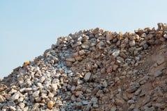 Steine, Schutt, Granit Stockfoto