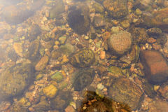 Steine und Sand Stockfotos