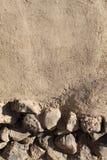 Steine und Schlamm-Wand Lizenzfreies Stockfoto