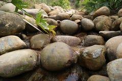 Steine und Ströme stockbilder