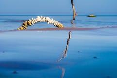 Steine und Wasser Stockbild