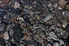 Steine unter dem Wasser Lizenzfreie Stockbilder