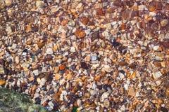 Steine unter Wasser Lizenzfreies Stockfoto