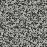 Steine zerquetschtes Steinnahtloses Stockbilder