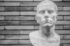 Steinfehlschlag des Nationalmuseums von Roman Art Mérida Lizenzfreie Stockbilder