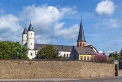 Steinfeld abbotskloster, Tyskland Fotografering för Bildbyråer