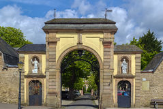 Steinfeld abbotskloster, Tyskland Royaltyfri Bild