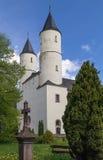 Steinfeld abbotskloster, Tyskland Arkivbilder