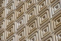 Steinfliese-Fassade auf einer Schräge Lizenzfreies Stockfoto