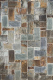 Steinfliesenbeschaffenheitsbacksteinmauer Lizenzfreies Stockfoto