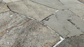 Steinfliesenbodenhintergrund stockfoto