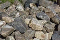 Steinflusssteinhintergrund Stockbilder