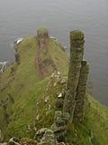 Steinformular an der Damm des Riesen Lizenzfreie Stockbilder