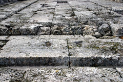 Steinfußboden lizenzfreies stockbild