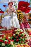 On every even-numbered year, the Bad Nauheim suburb Steinfurth, the oldest rose village in Germany, honours the rose by celebratin. STEINFURTH, GERMANY-JULY 15 royalty free stock photos