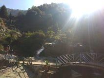 Steingarten Darjeeling stockfotografie