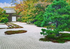 Steingarten von Nanzen-jitempel in Kyoto Lizenzfreie Stockbilder