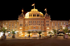 Steingenberger Kurhaus Hotel. Victoria and impressive Steingenberger Kurhaus Hotel at Scheveningen, The Sea Shore of The Hague, Netherlands Royalty Free Stock Photography