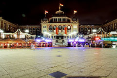 Steingenberger Kurhaus Hotel. Victoria and impressive Steingenberger Kurhaus Hotel at Scheveningen, The Sea Shore of The Hague, Netherlands Royalty Free Stock Images