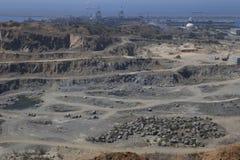 Steingrube Lizenzfreie Stockbilder