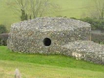 Steinhütte: Irland Stockbild